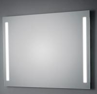 KOH-I-NOOR LED Wandspiegel mit Seitenbeleuchtung, B: 500, H: 500, T: 33 mm