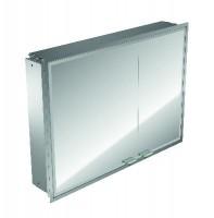 Emco asis LED-Lichtspiegelschrank Prestige Unterputz, 915 mm, mit Radio, BTL, Farbwechsel