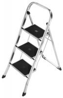 Hailo-Werk Klapptritt 3 Stufen Stand-H.690mm geklappt H1150xB470xT50mm m.Alu.-Holmen, 4393-801