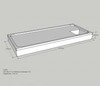Neuesbad Wannenträger für Kaldewei Superplan XXL 170x75x4,7