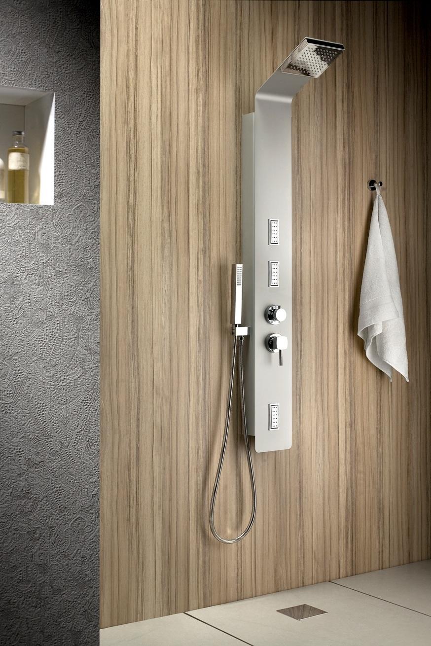 neuesbad duschpaneel cube 154 top 154x154 mm. Black Bedroom Furniture Sets. Home Design Ideas