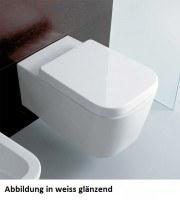 Globo Stone Wand-WC, B: 360, T: 540 mm, schwarz matt