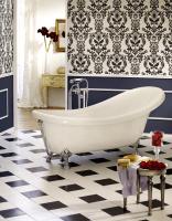 Freistehende Badewanne Azur 1750x825x395 mm, weiß