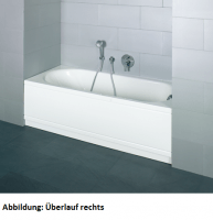 Bette Rechteck-Badewanne Pur Comfort 8260, 170x75x45 cm