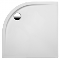Brausetasse Maui-VK 1000x1000x25 mm, weiß