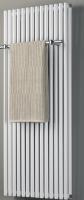 Design-Badheizkörper BL: 600 mm, BH: 800 mm, Farbe: silber, Sonderposten