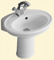 Villeroy & Boch Amadea Handwaschbecken 50 cm für 3-Loch-Armatur, starwhite mit ceramicplus