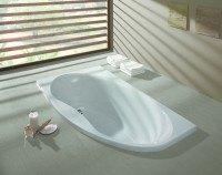 Hoesch Badewanne Midi Eck 1750x950 rechts, weiß