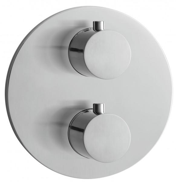 Herzbach Design IX Thermostatarmatur Unterputz Fertigset 3 round plus, 17.503055.1.09