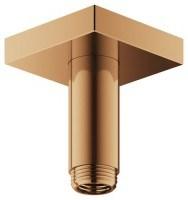 Keuco Brausearm Edition 300 53089, für Deckenanschluss, 100 mm, Bronze geb., 53089030102