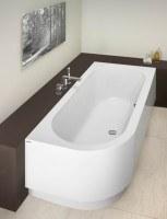Hoesch Badewanne Happy D. 1800x800 rechts mit