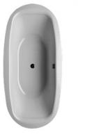 Bette Badewanne Steel Oval 6774, 190x90x45 cm