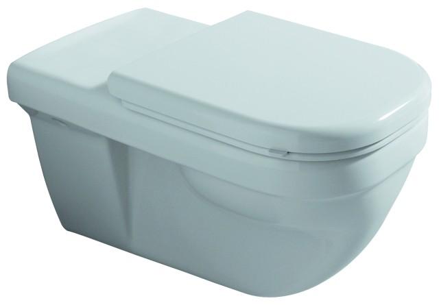 WC-Sitz Dejuna, 572800, Scharniere: edelstahl, 572800000, weiss 572800000