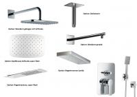 HSK Shower Set 2.24 Softcube chrom