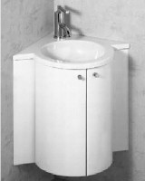 Sam Waschtischanlage miniroc Eckmodell