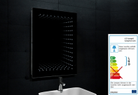 Neuesbad Design LED Spiegel Beleuchtung 6400K 1243W, B:600, H:800, T:70 mm
