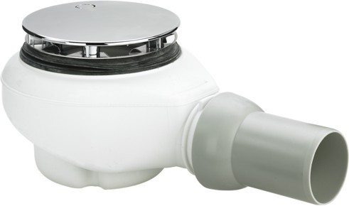Ablaufgarnitur Tempoplex Plus 6960 in 112x50mm Kunststoff verchromt 578916
