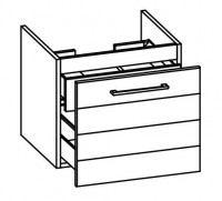 Artiqua SELECTION 312 Waschtischunterschrank mit Innenschubkasten B:500mm