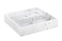 Cosmic Container Waschbecken 57 cm, Weiss glänzend, 7751510
