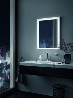 Zierath LED Lichtspiegel Lira PRO Kristallspiegel, BxH 1000x800
