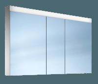 Schneider Spiegelschr. Pataline /130/3/LED, 1x29W LED 1300x760x120 weiss, 161.130.02.02