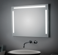 KOH-I-NOOR LED Spiegel mit Ober- und Seitenbeleuchtung, B: 1400, H: 800, T: 33 mm