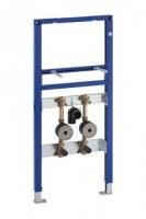 Geberit Duofix Waschtisch mit Unterputz-Ventil- und WZ-Set 112 cm für Einlocharmatur