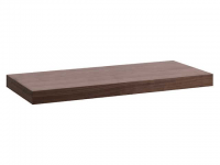 Laufen Waschtisch-Platte Alessi One ohne Ausschnitt, 85x1200x500 mm noce canaletto echtholzfurnier
