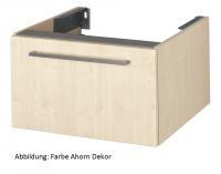 VitrA Waschtisch-Unterschr. f. Konsolenplatte Options, 700x540x350mm Korpus Eiche dunkel, Dekor, 801