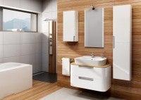 Neuesbad Premium Serie 1 Waschtischunterschrank hängend, 2 Schubladen