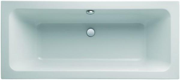 Geberit (Keramag) Badewanne iCon 650470, L: 1700, B: 750mm, weiss, Überlauf mittig, 650470000