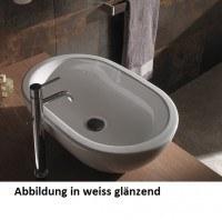 Globo Concept Aufsatzwaschtisch, B: 600, T: 400, H: 180 mm, ohne Hahnloch, SC012NE