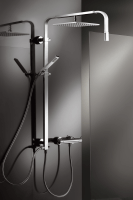 HSK Shower-Set RS 500 Walk In Universal, chrom