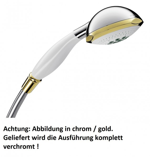 Hansgrohe Handbrause Axor Carlton chrom mit Quiclean, 17850000