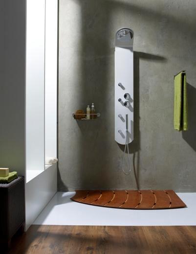 Neuesbad Duschpaneel Arcus, Kopfbrause 200 mm