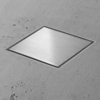 Aqua Jewels Quattro MSI-3 20x20 cm Zero+Edelstahl geb.,senk.