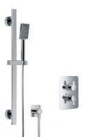 HSK Shower Set 2.02 Softcube chrom
