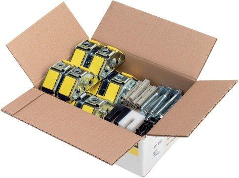 Viega m2-Paket Steptec 8400, in 3,0m2 Stahl verzinkt