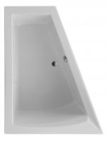 Acryl Badewanne Galia II Model B 1750x1350x700 mm, weiß