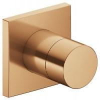 Keuco 3-Wege Umstellventil IXMO Pure 59548, eckig, Bronze gebürstet, 59548030002