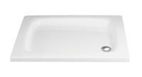 HSK Acryl Quadrat-Duschwanne flach 90 x 90 x 10 cm, ohne Schürze