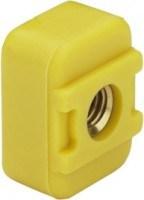 Viega Nutenstein Viegaswift 8013.27, in M6 Kunststoff gelb