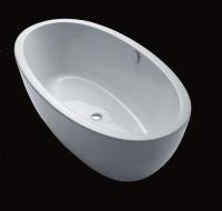 Repabad Ferrara 180/85 F freistehende Badewanne, L: 1800, B: 850, H: 600 mm, weiss