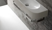 Globo Concept Handttuchhalter, verchromt, PC7027