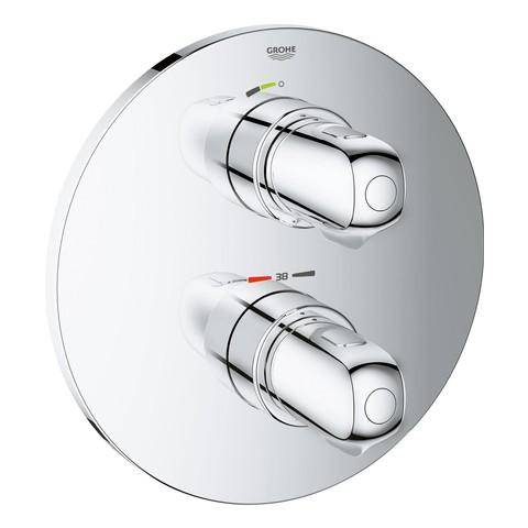 Grohe Thermostat-Brausebatterie Grohtherm 1000 19984 Fertigmontageset f. Rapido T chrom, 19984000