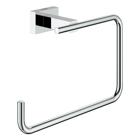 Grohe Handtuchring Essentials Cube 40510 Metall chrom, 40510001