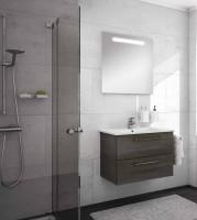 Neuesbad Serie 200 Badmöbelset B: 750 mm, mit Spiegel
