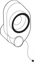 Mepa Sanicontrol Urinalspüler K3 Siphon mit Siphonelektroden