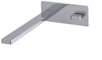 AquaConcept iTap UP-Einhand-Waschtischarmatur Click-Clack Ablaufgarnitur mit Abdeckplatte