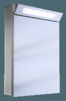 Schneider Spiegelschrank Capeline 60/1/FL, 1x36W 600x800x150 alueloxiert, 154.060.02.50